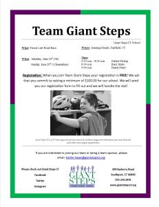 Team Giant Steps Flyer 2017